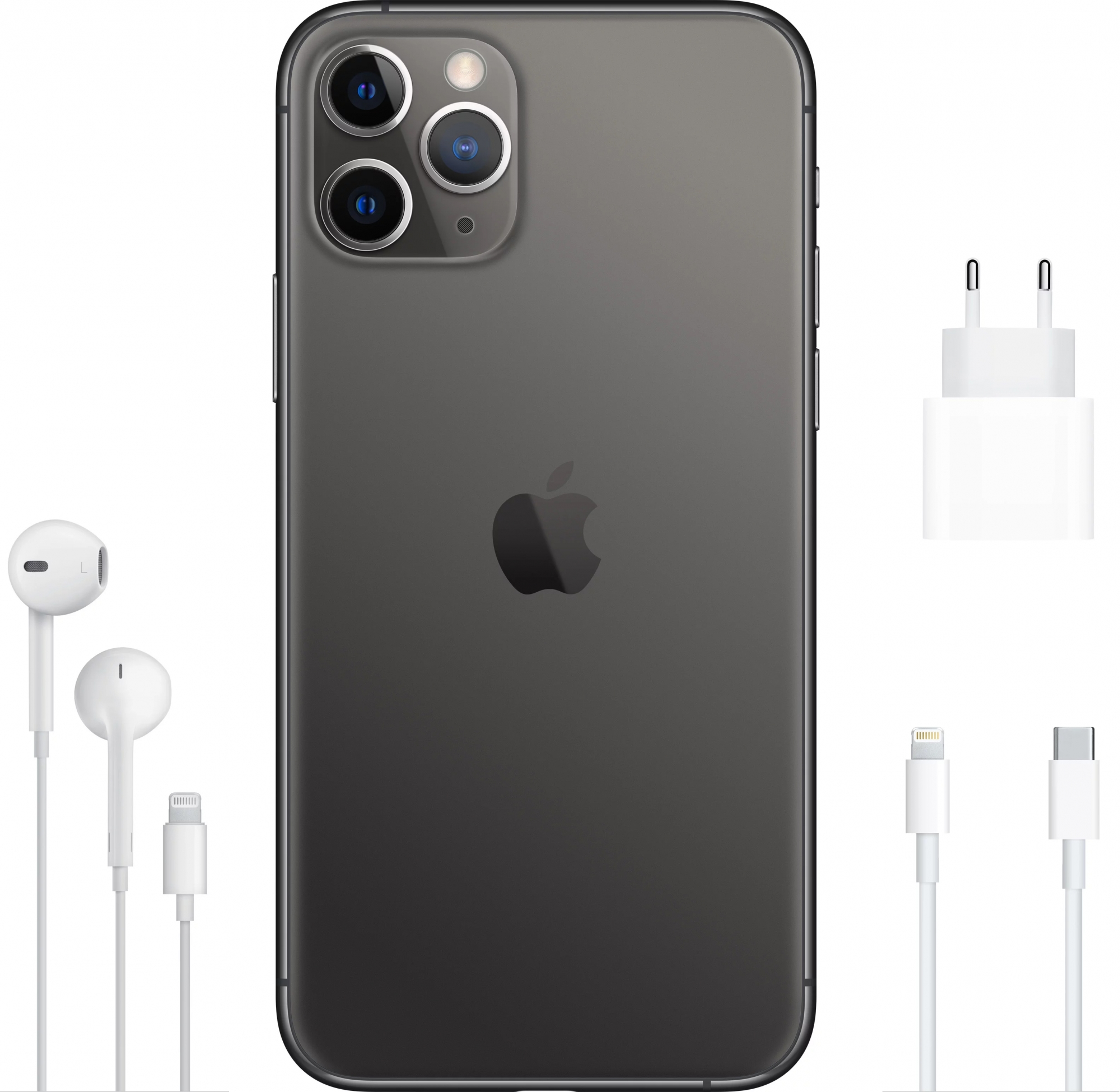 Смартфон Apple iPhone 11 Pro Max 256Gb Space Gray (MWHJ2RU/A)