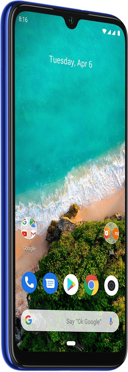 Смартфон XiaoMi Mi A3 4/128Gb Not just Blue Global Version