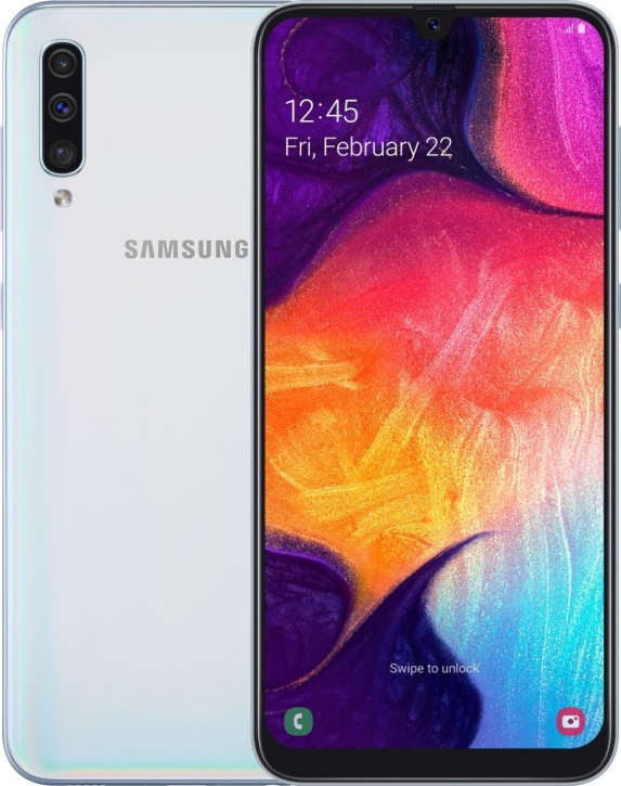 Смартфон Samsung Galaxy A50 128Gb Белый (SM-A505F)