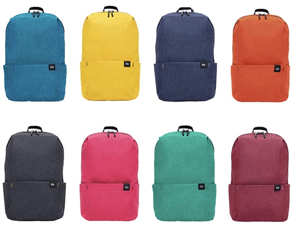 Рюкзак XiaoMi Mi Colorful Small Backpack, жёлтый