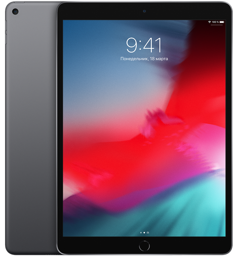 Apple iPad Air (2019) Wi-Fi 256Gb Space Gray (MUUQ2RU/A)