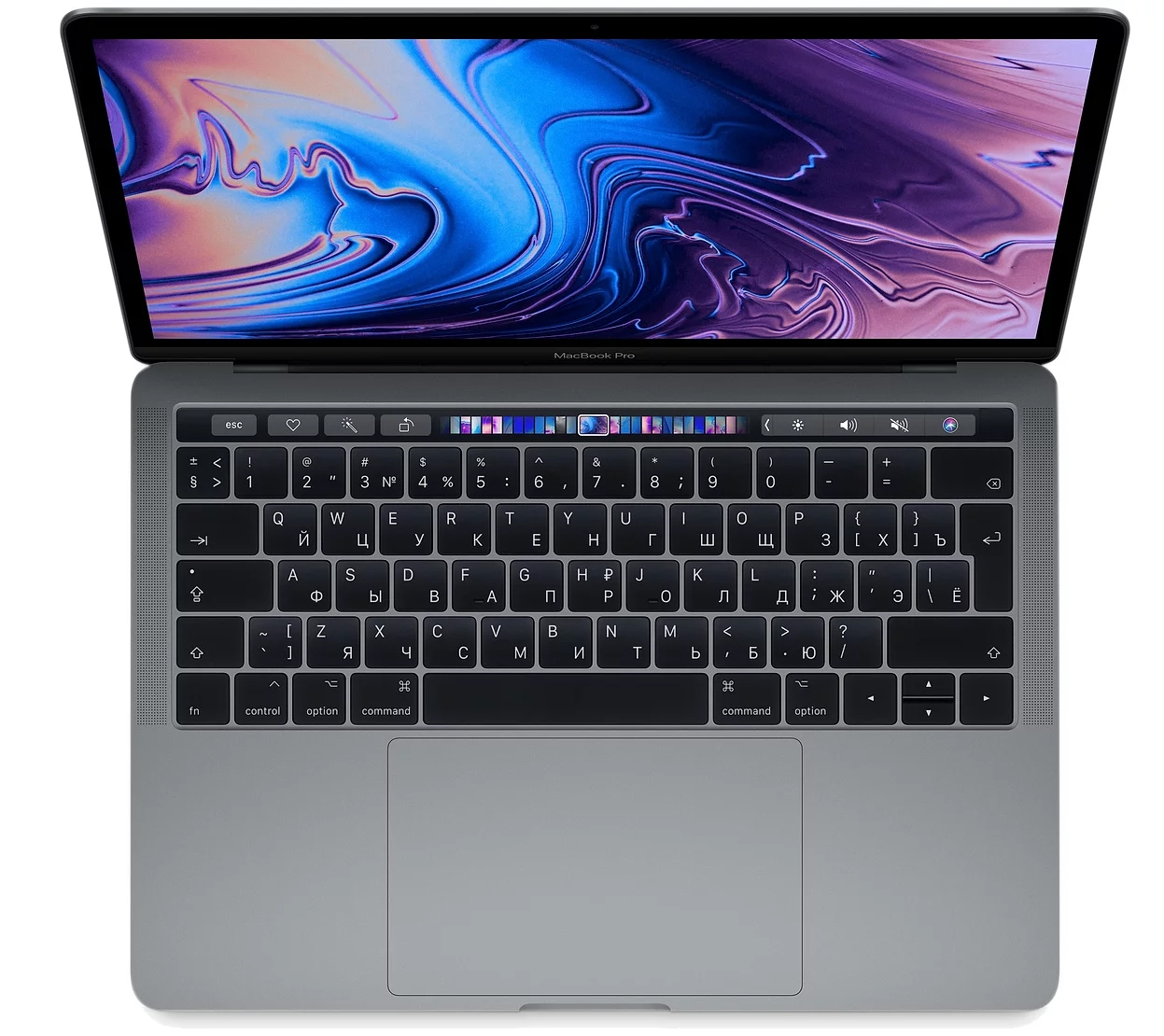 "Apple MacBook Pro 13"" 512Gb Space Gray (MV972RU/A) (Core i5 2,4 ГГц, 8 ГБ, 512 ГБ SSD, Iris Plus 655, Touch Bar)"