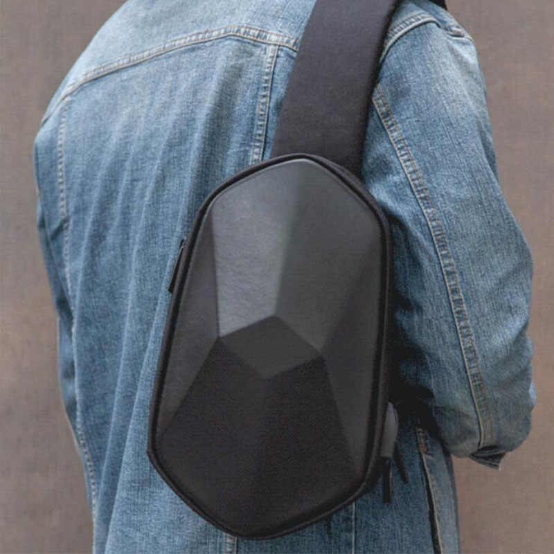 Рюкзак XiaoMi Tajezzo BEABORN Polyhedrone Backpack Chest Bag, Black