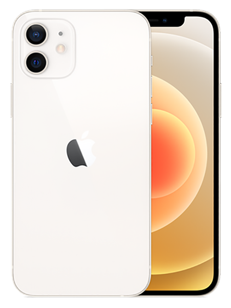 Смартфон Apple iPhone 12 128Gb White (MGJC3RU/A)