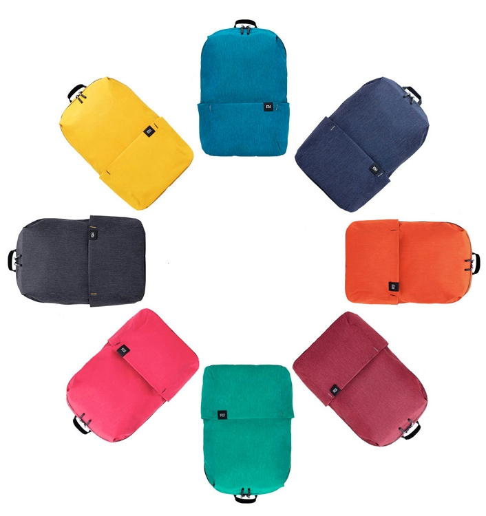 Рюкзак XiaoMi Mi Colorful Small Backpack, чёрный