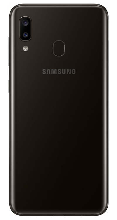Смартфон Samsung Galaxy A20 32Gb Чёрный (SM-A205F)