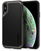 Чехол Spigen Neo Hybrid для iPhone XS Max, Gunmetal (065CS24838)