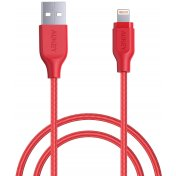 Кабель Aukey CB-AL1 USB to Lightning 1.2m (Red)