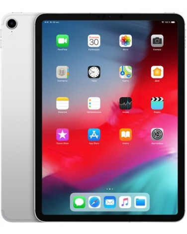 Apple iPad Pro 11 Wi-Fi + Cellular 64Gb Silver (MU0U2)