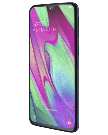 Смартфон Samsung Galaxy A40 64Gb Чёрный (SM-A405F)