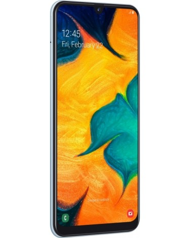 Смартфон Samsung Galaxy A30 64Gb Белый (SM-A305F)