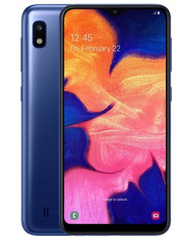 Смартфон Samsung Galaxy A10 32Gb Синий(SM-A105F)